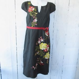 Moulinette Soeurs Lucillae Dress Embroiderered XS